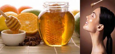 Honey brings glow in your skin