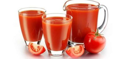 Tomato juice reduces weight!