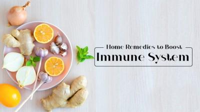 Home Remedies to Boost Immunity