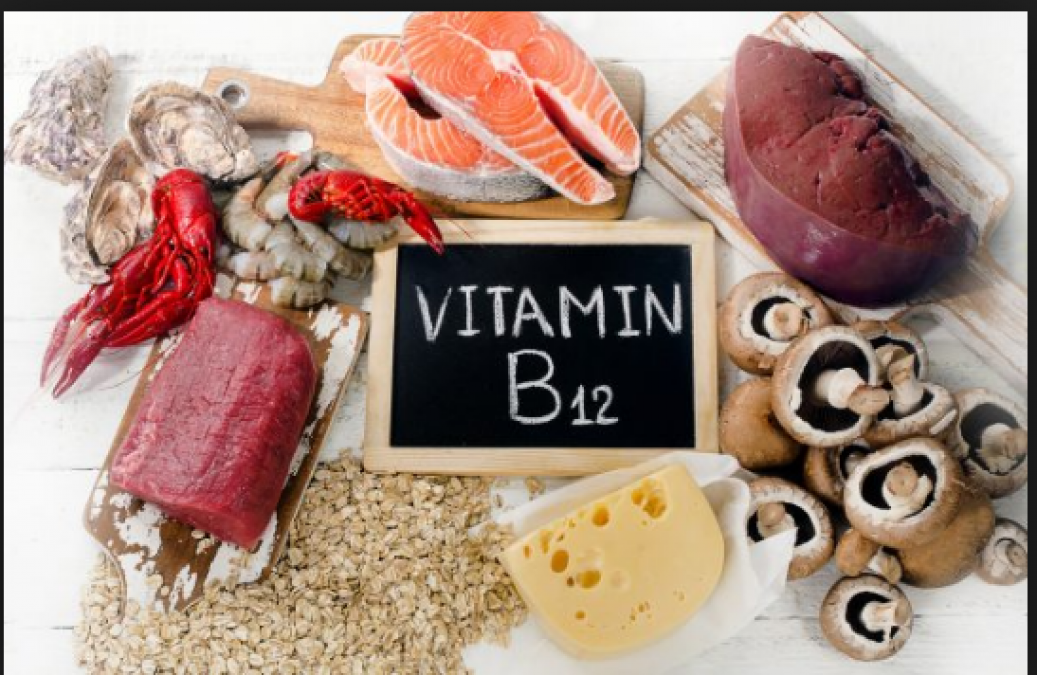 Vitamin B12 rich foods and their associated health
