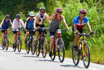 BICYCLING CAN BE A LOT OF BENEFITS TO HEALTH