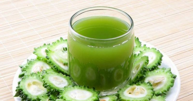 Bitter gourd Juice is beneficial for eyes