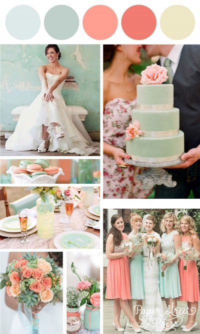 Wedding colors which will lighten up your wedding