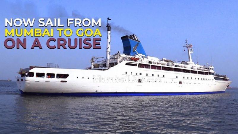 Go on a trip to Mumbai to Goa via luxury cruises, that too in your budget