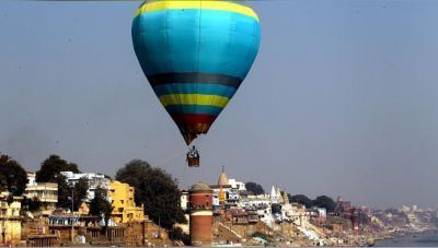 Let's Enjoy the Aerial view of the City of God: Varanasi
