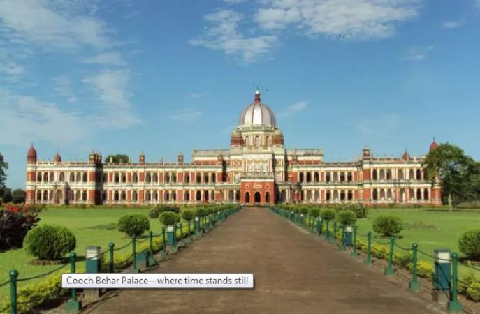 A perfect amalgamation of beauty and mystery: Cooch Behar Palace