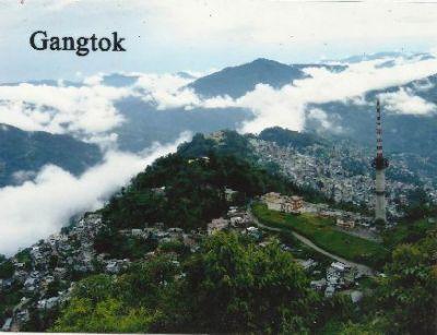 The city of peace: Gangtok