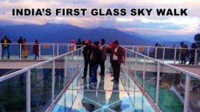 India to get first glass skywalk at 7200 feet above sea level in Sikkim