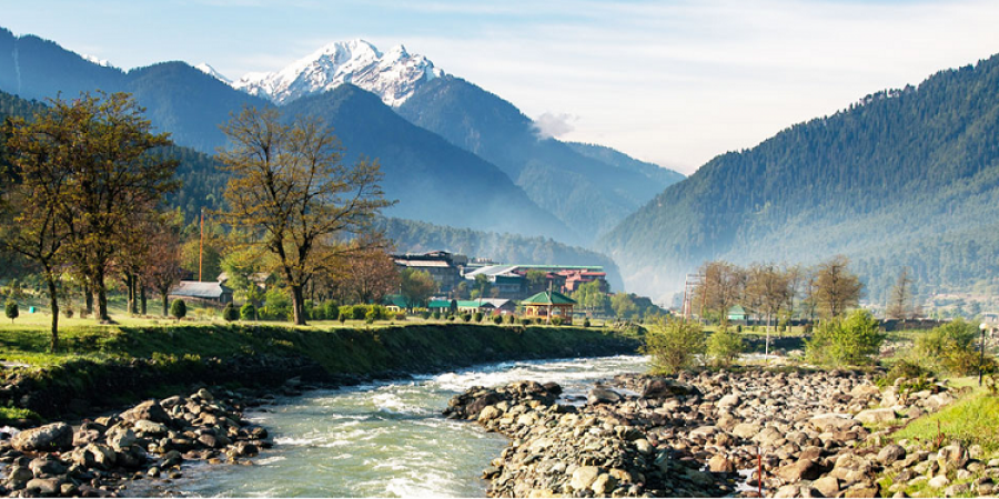 Enjoy the beauty of Kashmir and let go  all the tension