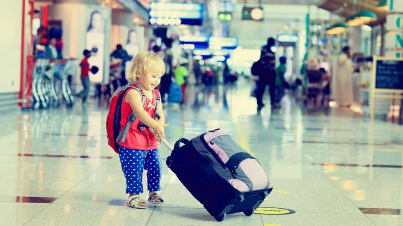 7 tips to make travelling easy with children
