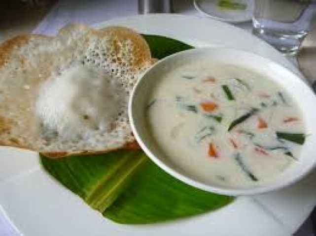 Delicious Appams - a dish from South Indian cuisine
