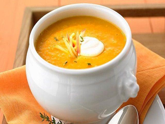 सर्दियों में पिएं गरम-गरम कद्दू का सूप