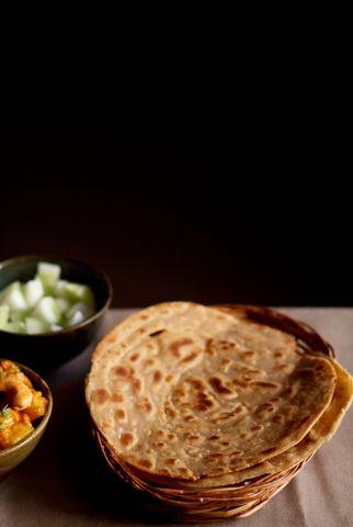 Easy way to make lachha paratha
