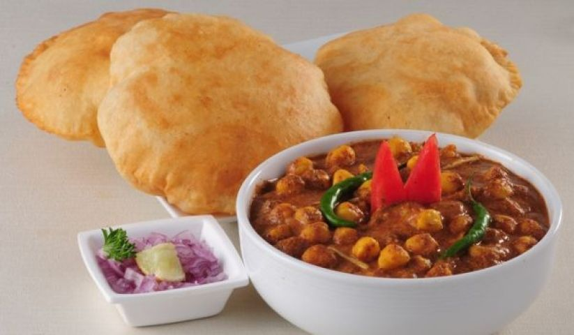 Popular Dish of Punjab - Chole bhature