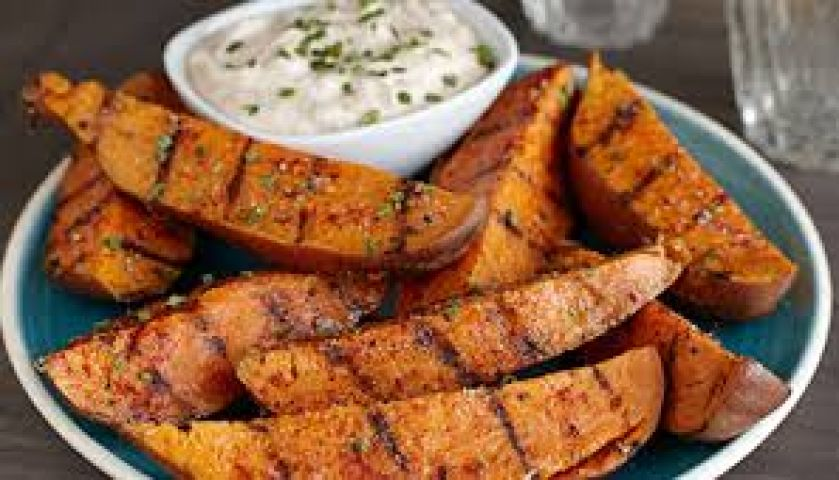 Try this yummy Sweet Grilled Potatoes !