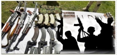 Succeeding security forces in Jammu and Kashmir, 4 terrorists and 3 supporters arrested