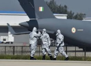 Corona attack on Indian Air Force personnel, quarantine