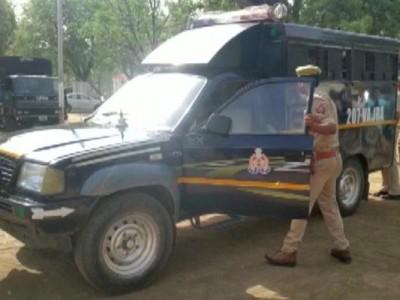12 policemen including SP, DSP, SI corona positive in Ujjain
