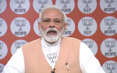 WHO praised India's action against Corona: PM Modi