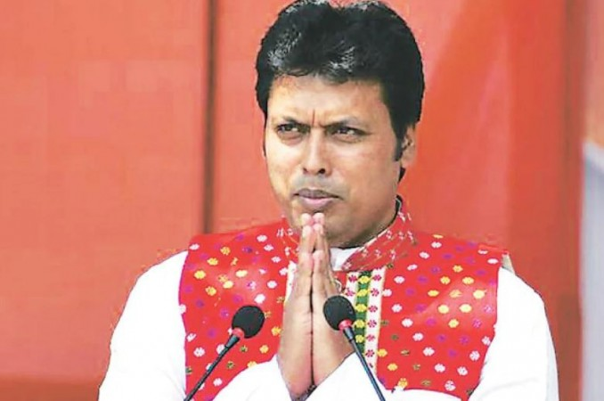 त्रिपुरा सीएम बिप्लब कुमार देब हुए कोरोना पॉजिटिव, लोगों से की ये अपील
