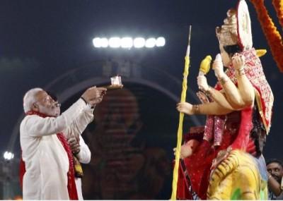 PM Modi doing Shakti Upasana for 40 years this is the routine during Navaratri