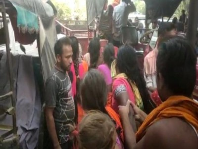 3 labourers tragically killed as illegal sand truck overturns in Bihar