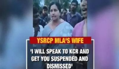 Hyderabad: MLA's wife and son threaten police, case filed