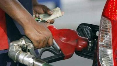 Petrol prices fall for third consecutive day, diesel stable, today's rate