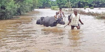 Heavy rain disrupts normal life in Maharashtra, water logging in several villages
