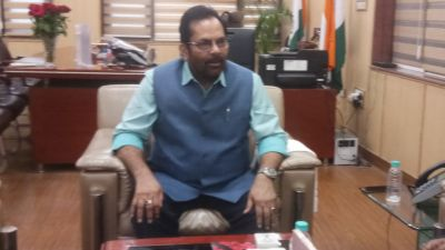 Mukhtar Abbas Naqvi's statement on 370 says 70-year-old mistake ended in 7 hours
