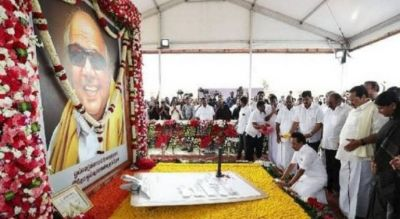 Karunanidhi's first death anniversary today, Stalin pays tribute
