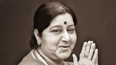 Former External Affairs Minister Sushma Swaraj says goodbye to losing life at the age of 67