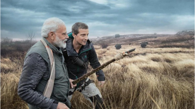 Man Vs Wild: Beer Grylls says, if see Lion kill it, PM Modi  replies, Not My Values'