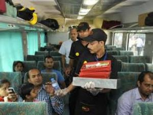 Eating in premium trains can be this much expensive