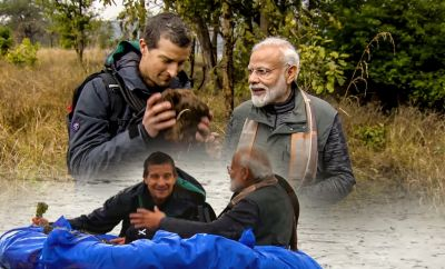 Watch Never-before-seen side of PM Modi in Man vs Wild, Beer Grylls praises PM