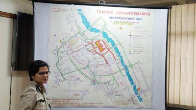 दिल्ली ट्रैफिक पुलिस ने जारी की एडवाइजरी, 13 और 15 अगस्त को बंद रहेंगे ये मार्ग