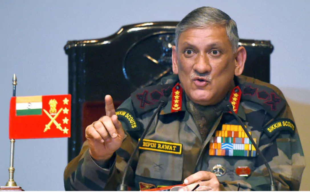 Will definetly get answer if Pak comes on LOC: Bipin Rawat