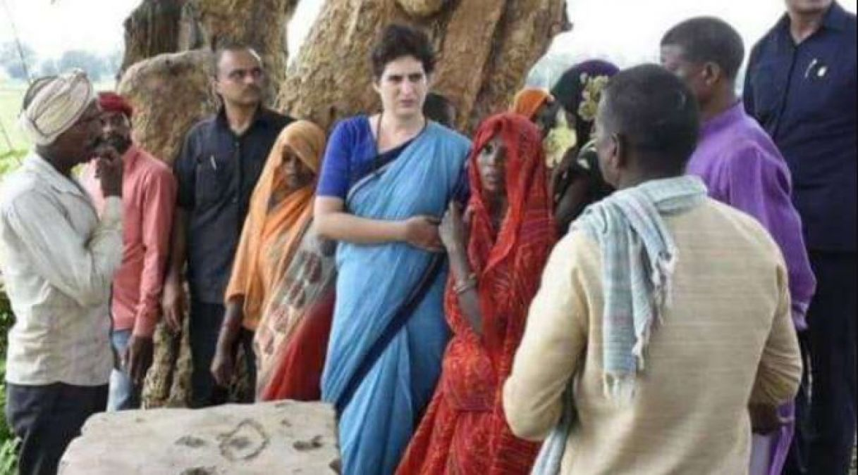 Sonbhadra Case: Priyanka Gandhi raises voice, says cases filed against victims should be cancelled