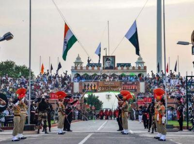 See the view of the Wagha-Atari border, the slogan of 'Bharat Mata Ki Jai' echoed loudly!