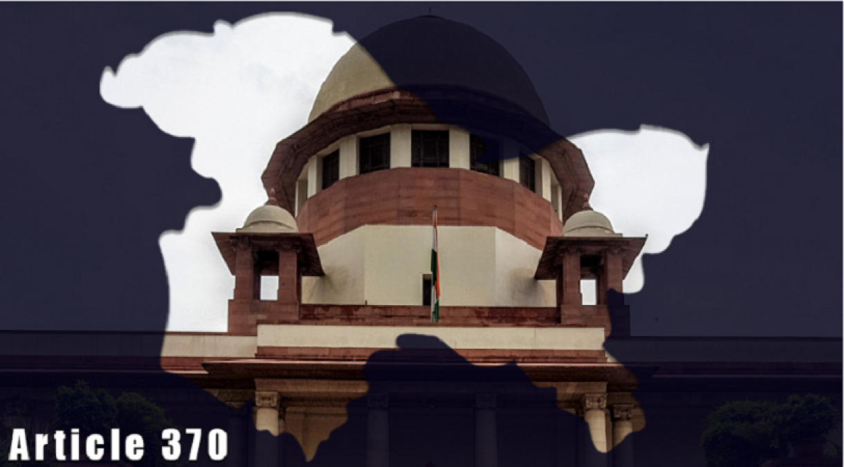 Supreme Court postpones hearing on Section 370, CJI asks to refill petition