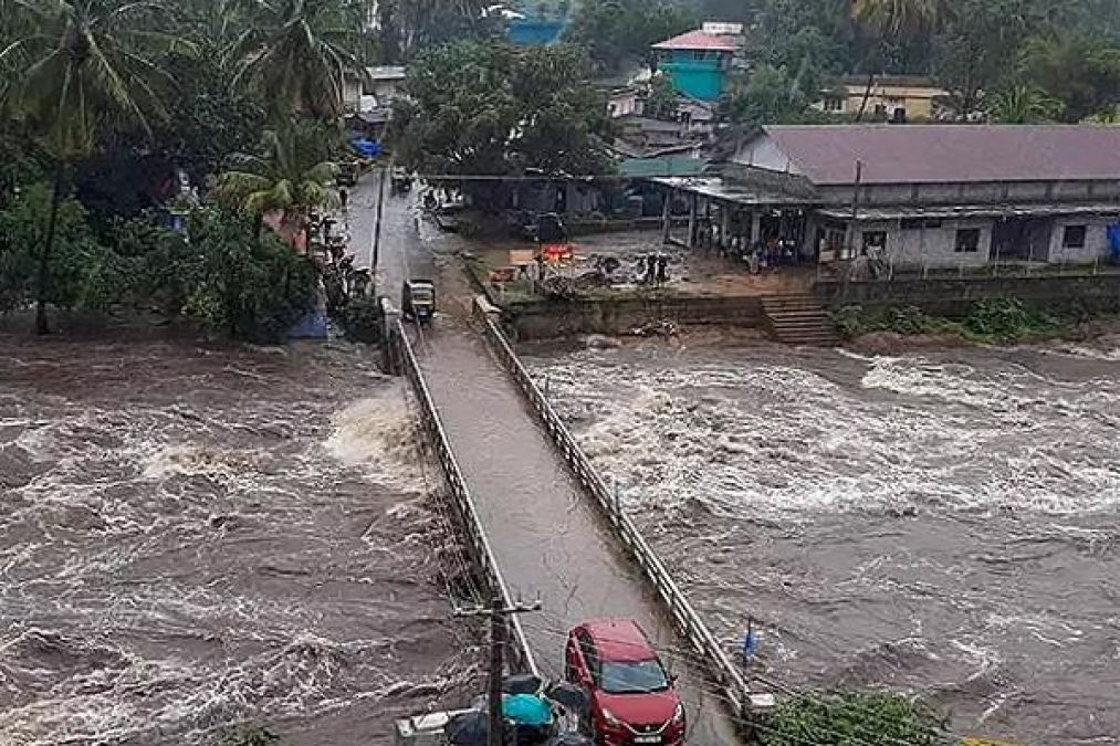 Torrential rains wreak havoc, Red alert issued in several states