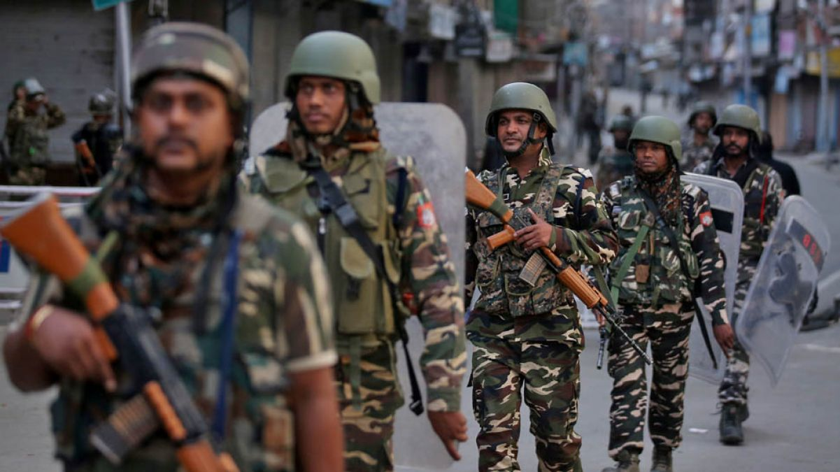 Input of major terror attack in Jammu and Kashmir, Army and Air Force on alert