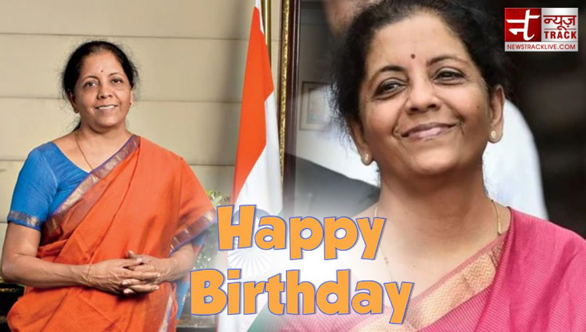 Birthday: Nirmala Sitharaman, the country's first woman to become a full-time Finance Minister!