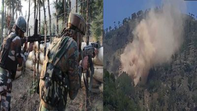India retaliates by firing, several soldiers killed, checkpoints destroyed