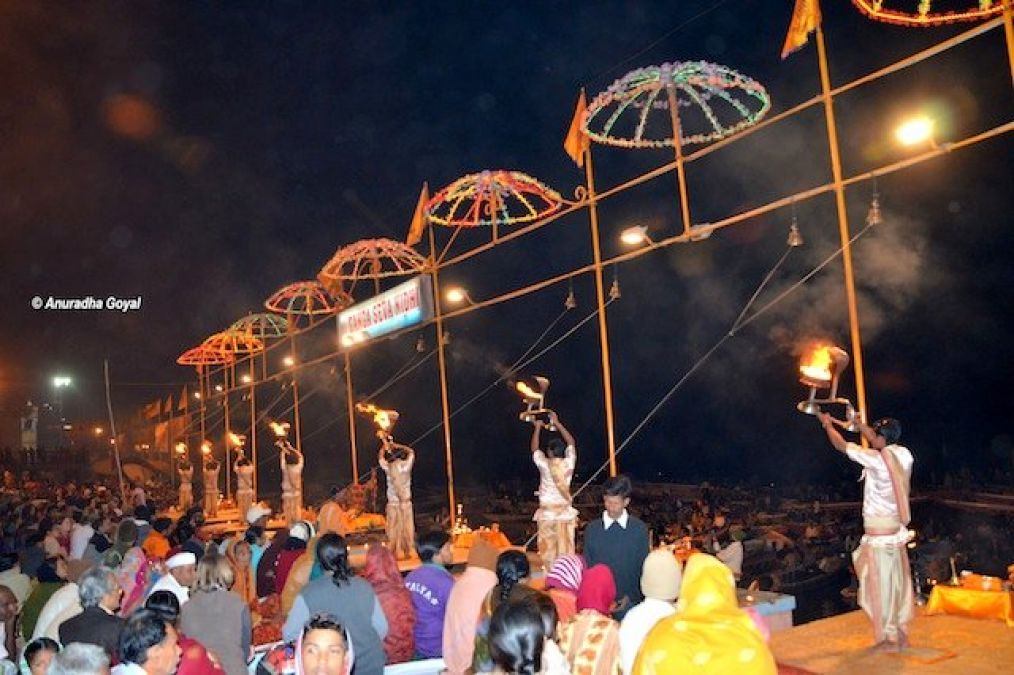 Tourists will now be able to see the live Ganga Aarti of