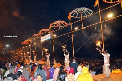 Tourists will now be able to see the live Ganga Aarti of Varanasi