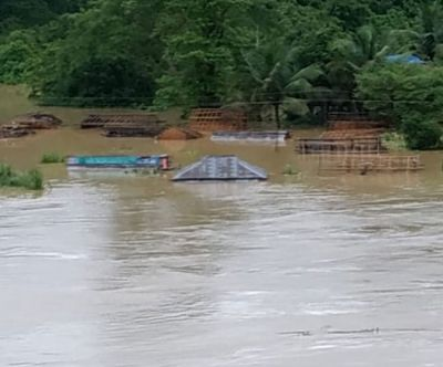 Torrential rain wreaks havoc in northern India, flood-like situation
