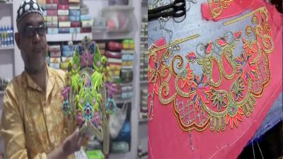Preparations of Janmasthami in full swing, Muslim artisans are making clothes for Lord Krishna