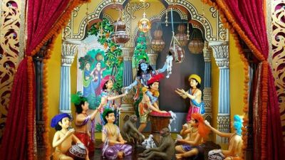 Ujjain : Sandipani Ashram celebrates Janmashtami in different ways
