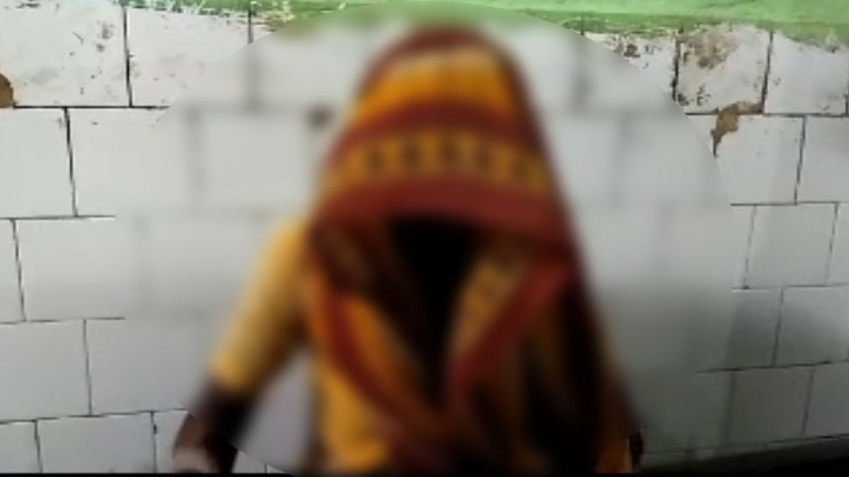 People beats Woman on suspicion of witch in Bihar